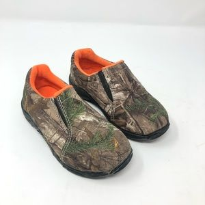 Game Winner Camo Slip On Shoes Toddler Size 9
